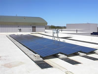 Solar Panels installed at Hampden Academy by Maine Solar Engineering