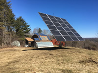 5 kw power optimizer PV system, Palermo, Maine