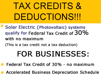 Solar Hot Water Systems and Solar Power Tax Credits